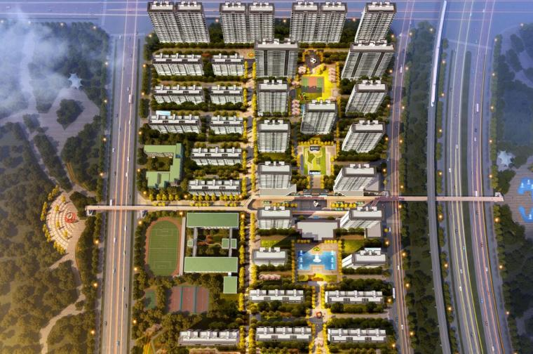 [河南]新亚洲风格高层住宅+洋房建筑方案
