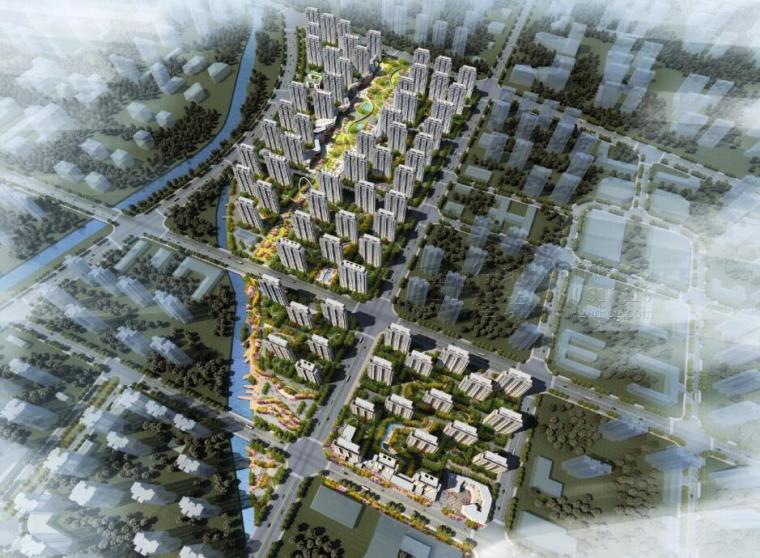 [天津]近郊盘现代流线豪华住宅建筑设计