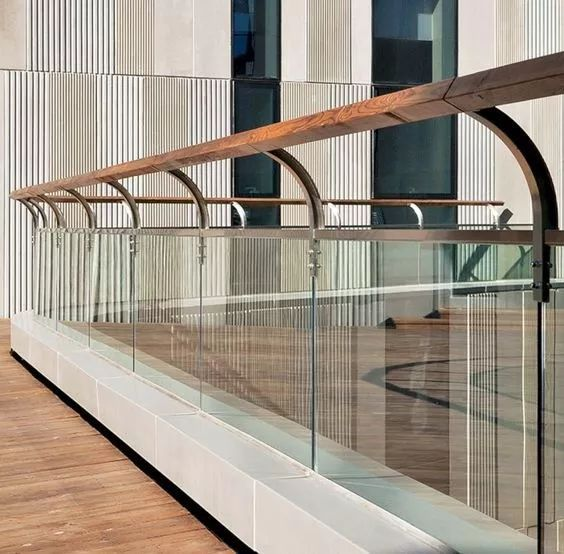 室内外玻璃扶手栏杆通用节点施工图_1