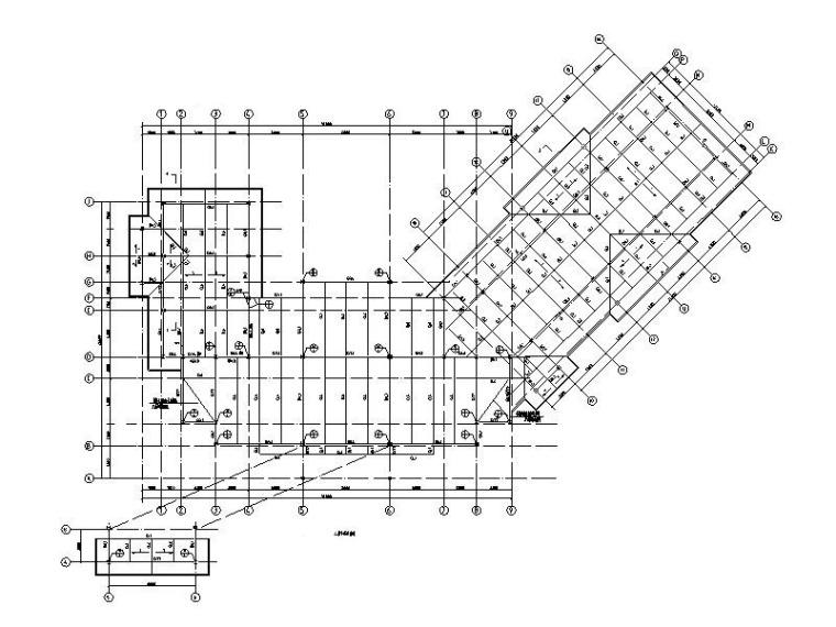 景区项目娱乐中心钢框架结构施工图_含建筑