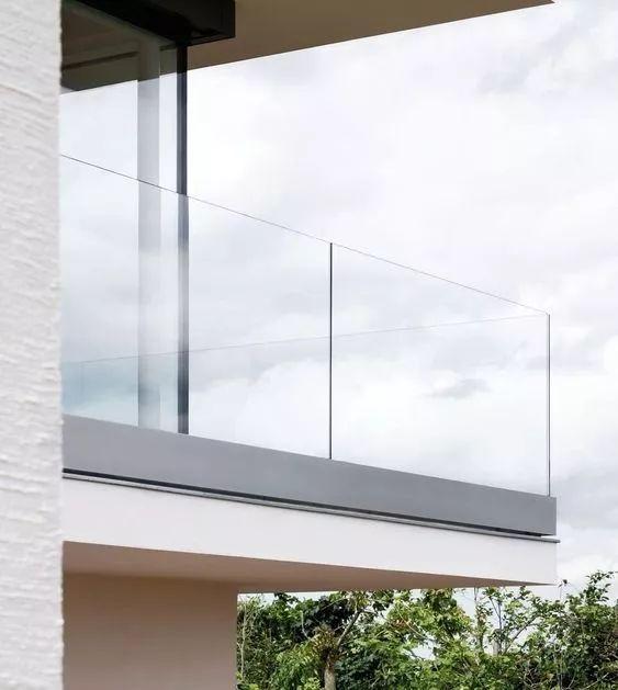 室内外玻璃扶手栏杆通用节点施工图_4
