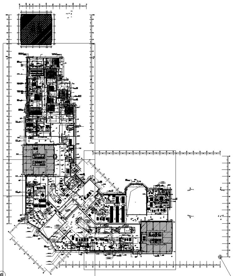 广东大型商业购物中心电气全套施工图纸