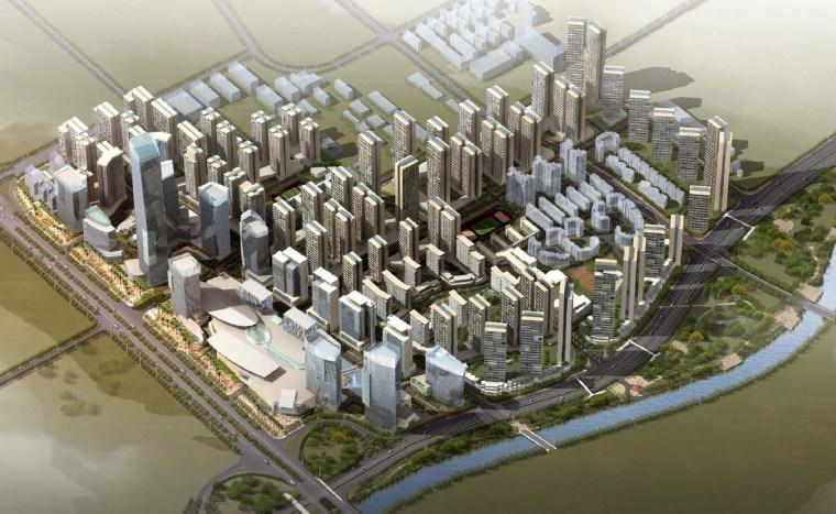 [深圳]西部通道门户新概念城市区域规划景观