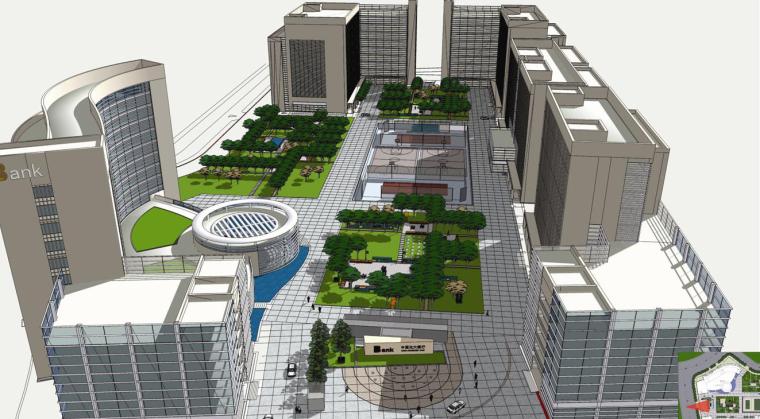 [北方]简洁统一融合生态知名工作环境景观