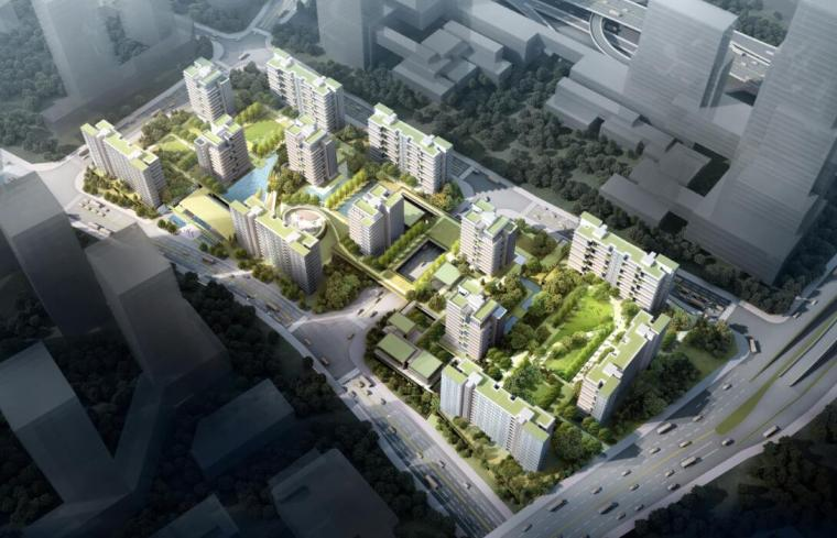 [重庆]现代山地小高层洋房豪宅建筑方案