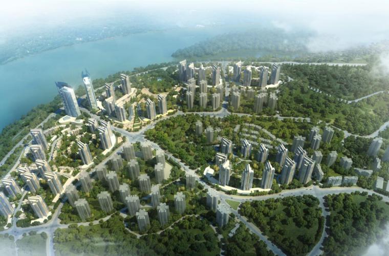 [重庆]融汇半岛滨江山地城市方案设计
