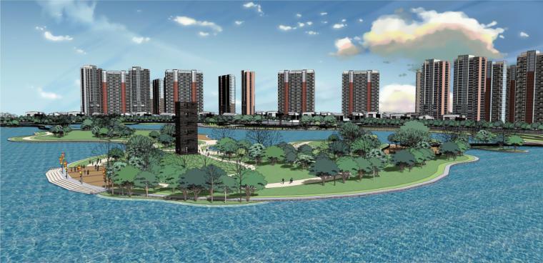 infraworks竖向规划资料下载-[河南]古城地区自然滨湖公园景观规划方案