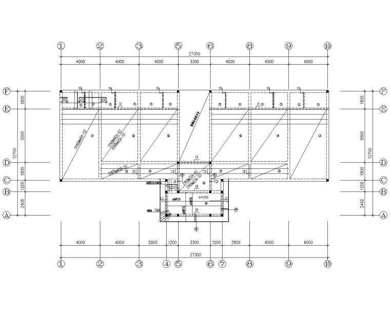 某二层敬老院砌体结构施工图(CAD)