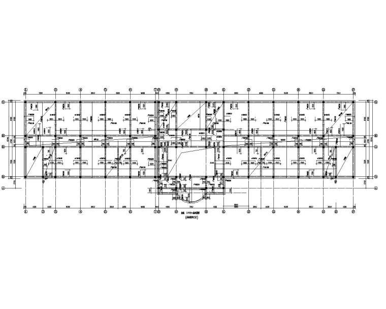 六层学校教学楼框架结构施工图(CAD)