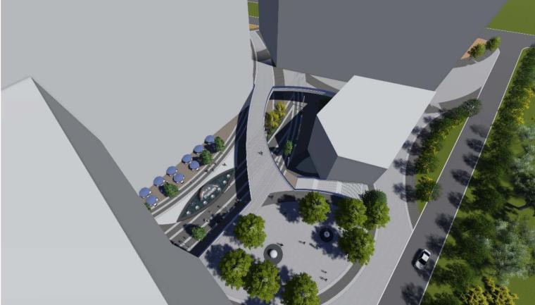 [厦门]城市车站周边广场地块景观概念设计