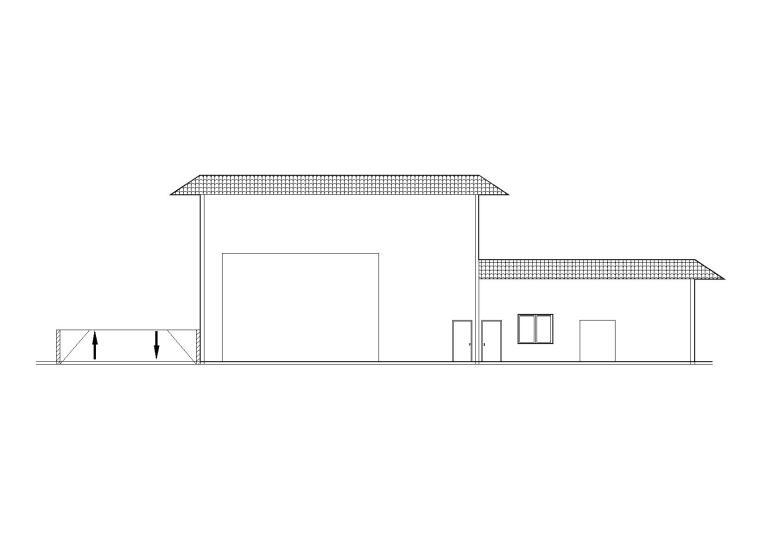 垃圾转运站小站建筑图纸含清单招标文件