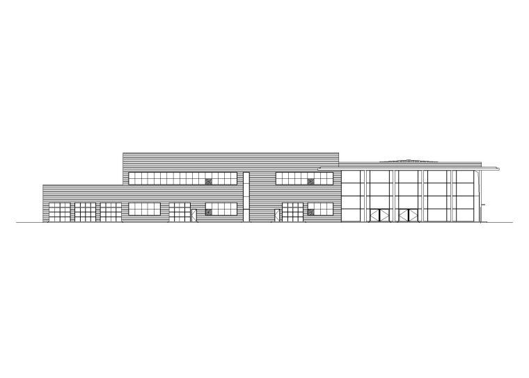 [贵州]奔驰4S专卖店建筑施工图设计(含总图)