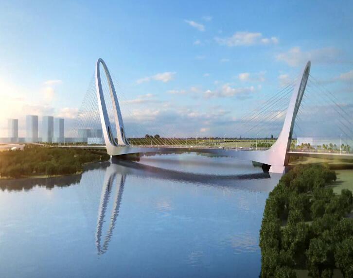 全钢焊接斜拉刚构组合体系桥BIM大赛汇报
