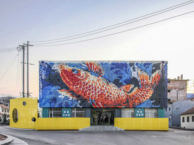 山西大鱼绘画景观