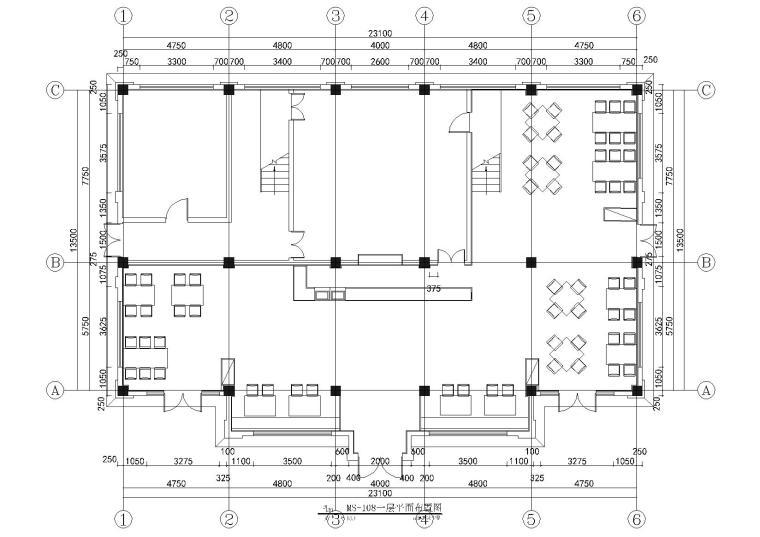 [昆明]古滇欢乐世界面面俱道餐厅室内施工图