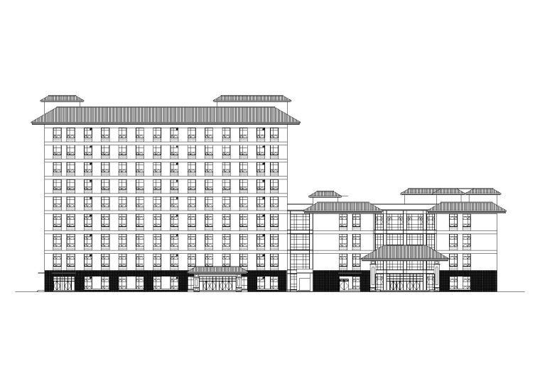 关岭自治县高层妇幼保健院项目建筑施工图