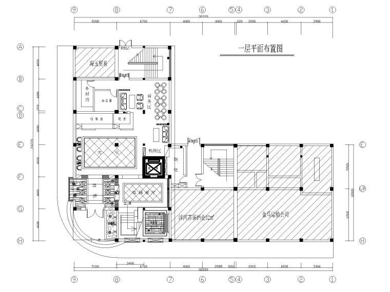 湛江足浴店设计施工图+效果图
