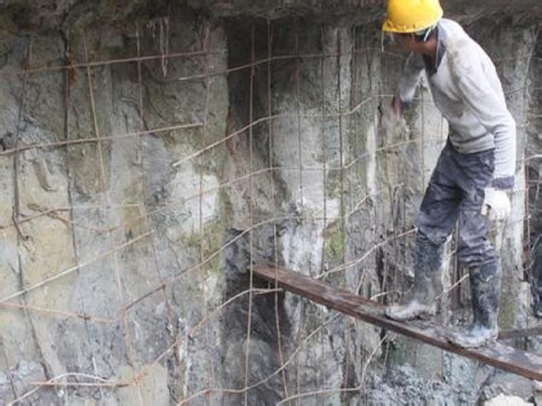 挂网锚喷混凝土防护边坡施工方案