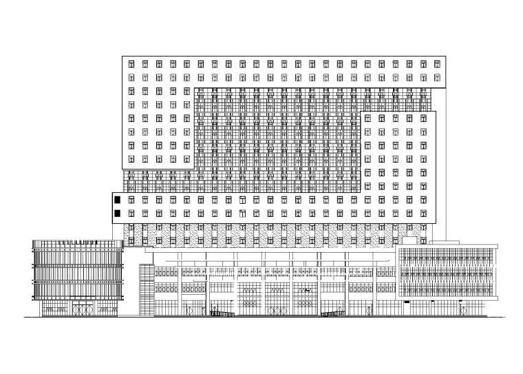 奉节中医院扩建工程建筑施工图(含监理招标)