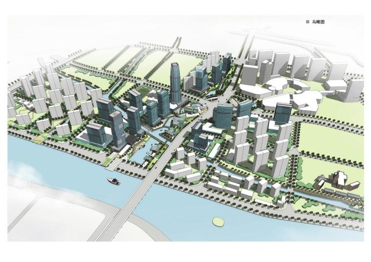 [江苏]城市中心广场地块详细城市设计方案