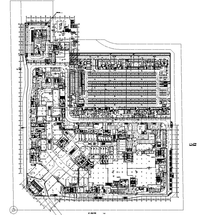 广东商业购物中心弱电智能化全套施工图纸