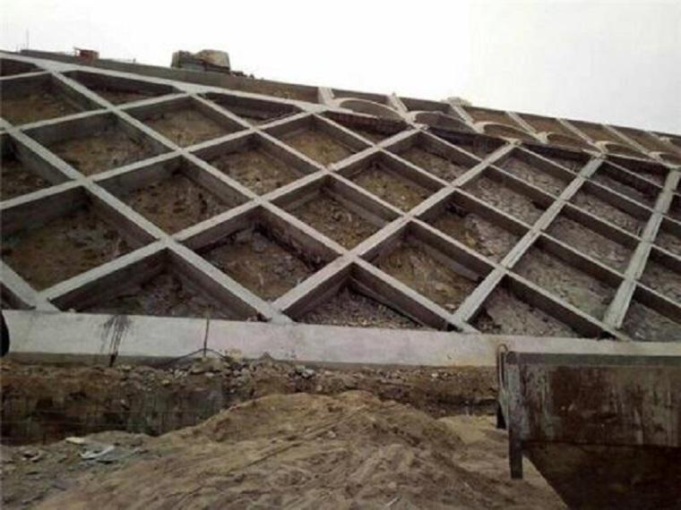 锚杆框架梁护坡施工方案