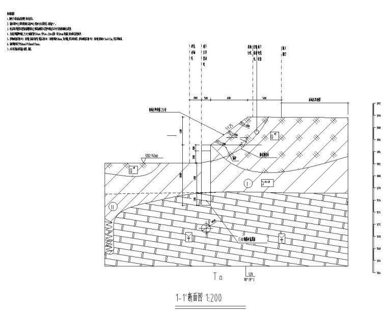 公共智慧停车场北门边坡施工图 (2)