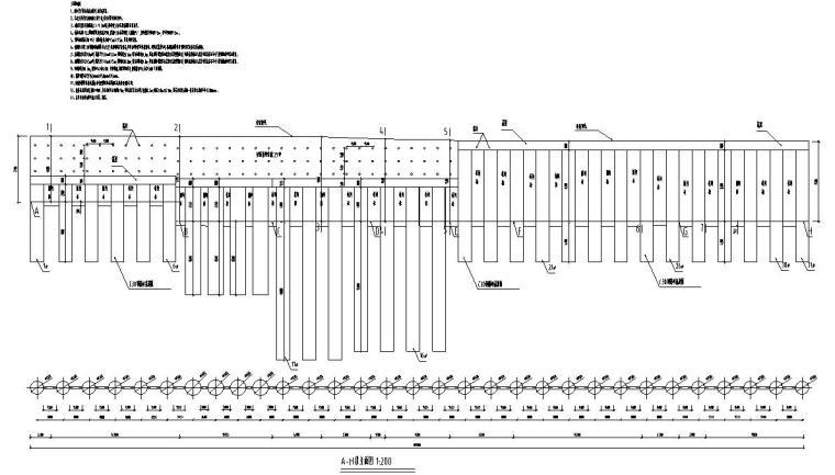 公共智慧停车场北门边坡施工图 (1)