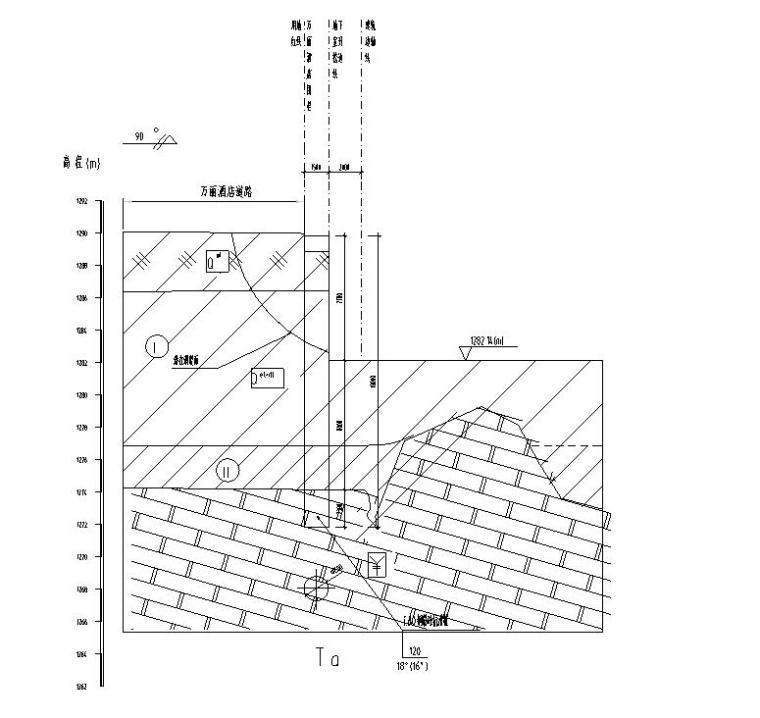 公共智慧停车场北门边坡施工图 (8)