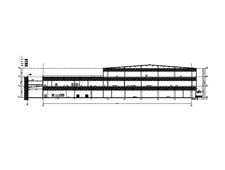 2#楼1-1剖面图