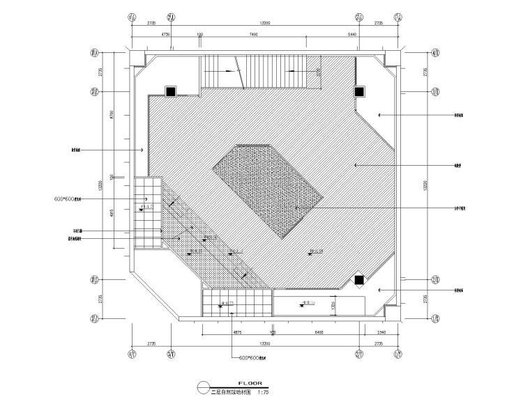 06自然馆二层地面布置图