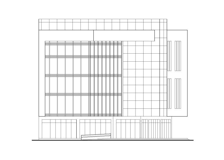 云岩区某产业园区孵化中心建筑施工图