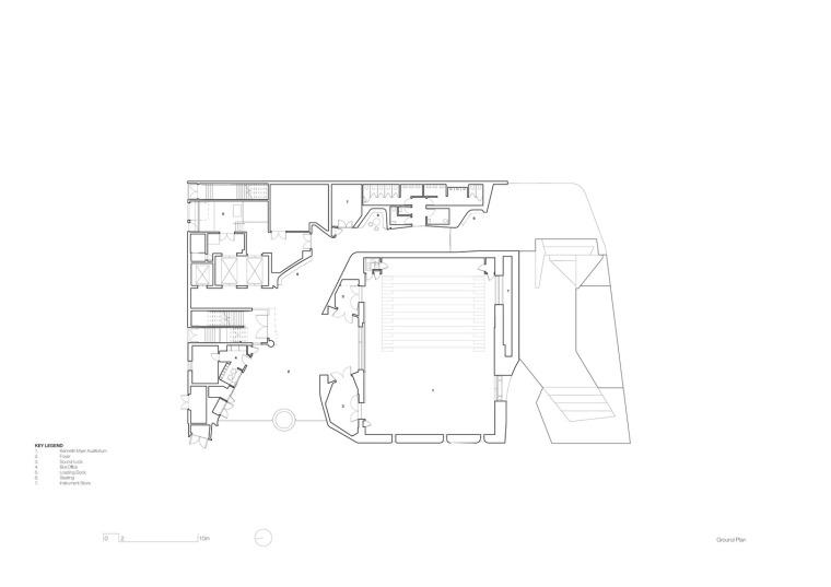 澳大利亚伊恩·波特南岸中心-IPSC_JWA_N704_Ground_plan