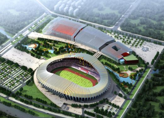 62体育场工程效果图