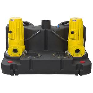 选择双泵污水提升器的优点