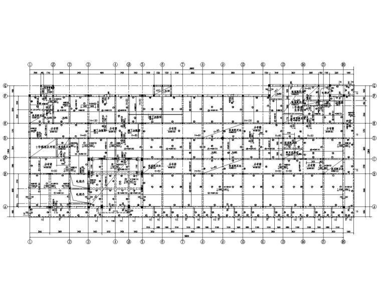 六层医院砖混结构设计施工图(CAD含建筑)