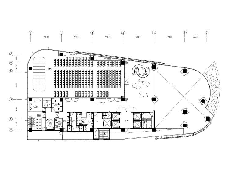 台湾葡众企业台北总部施工图+效果+软装方案
