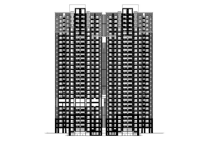 某高层住宅小区建筑施工图