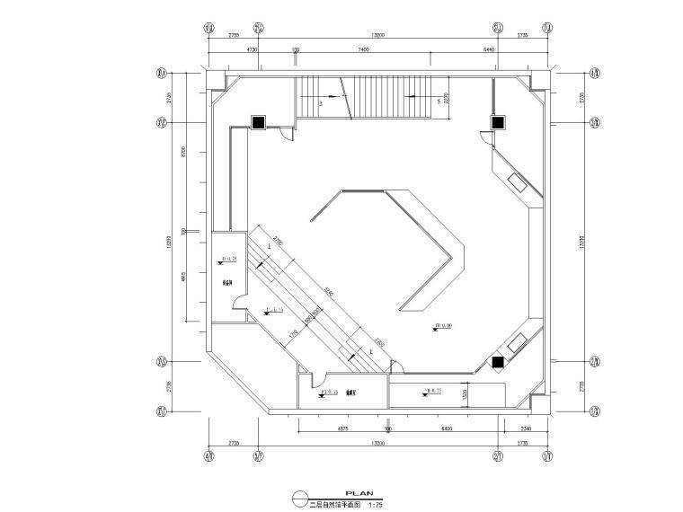 04自然馆二层平面布置图
