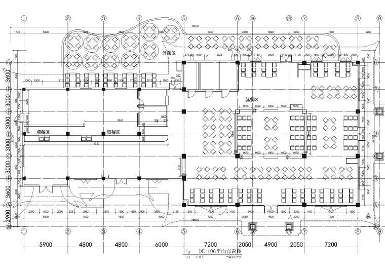 [昆明]古滇欢乐世界万象餐厅装饰设计施工图