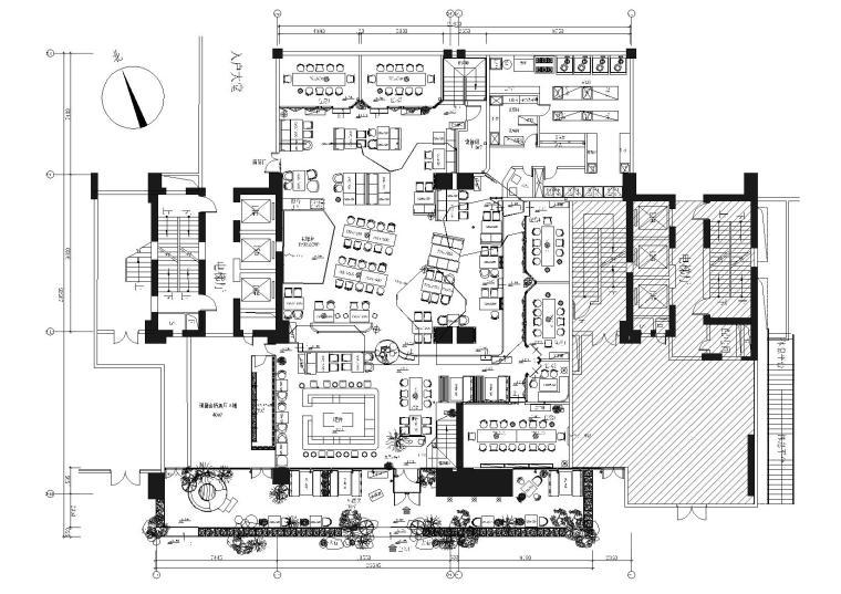 [湖北]武汉胡桃里音乐餐厅室内装饰施工图