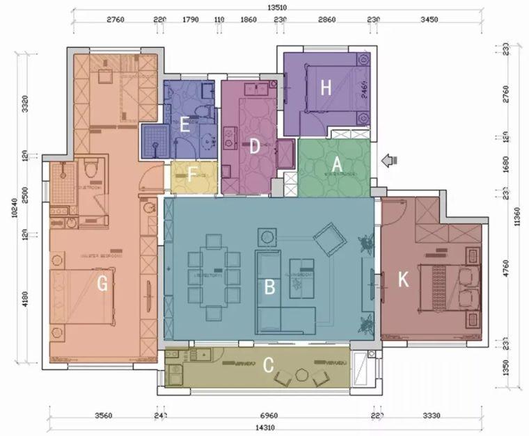 专业方案套路之:空间的置换与重组!_5