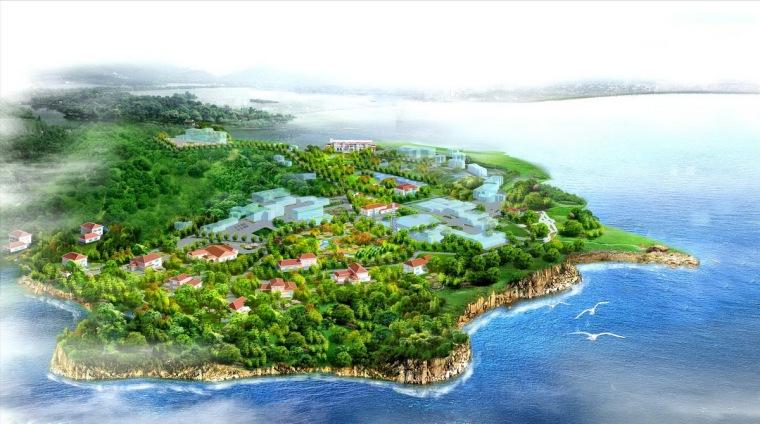 [北戴河]旅游度假区综合办事处景观绿化设计