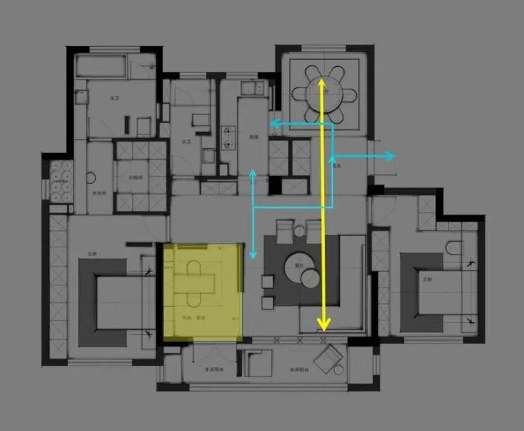 专业方案套路之:空间的置换与重组!_8