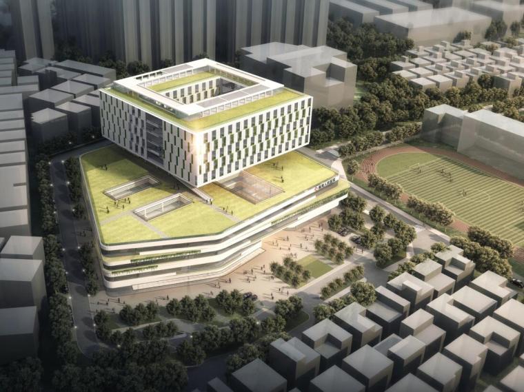 [广东]南湾人民医院改扩建工程方案设计