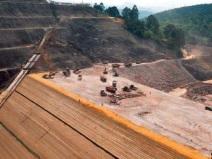 下水库大坝填筑施工方法与工艺流程