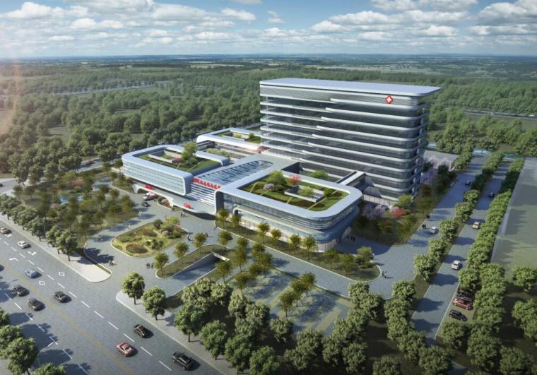 [江苏]新城现代风格医院修建性详细规划