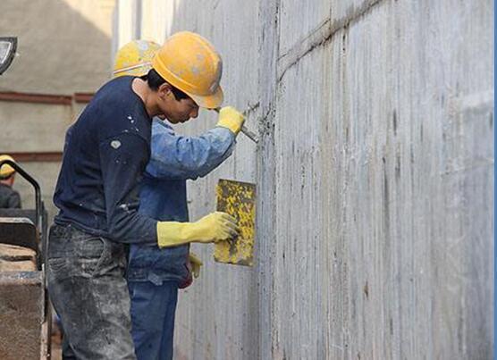 [QC成果]提高地下室外墙防水卷材铺贴合格率-基层处理