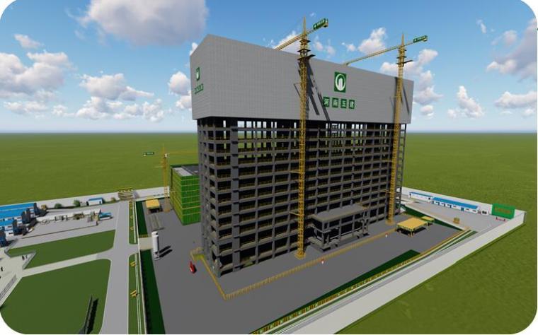 高空大悬挑混凝土结构模架体系技术创新