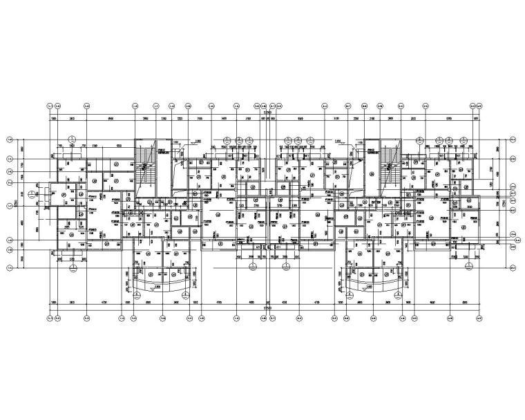 二十四层高层剪力墙结构住宅施工图(CAD)